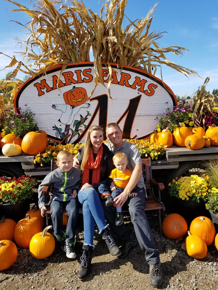 Pumpkins at Maris Farms